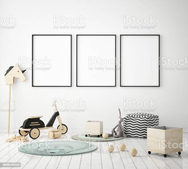 Mock up poster frames in children bedroom scandinavian style interior picture id686648930?b=1&k=6&m=686648930&s=612x612&h=znbpzipjdclwrur9vg4eqph3cx54j mjthyhlcfahw8=