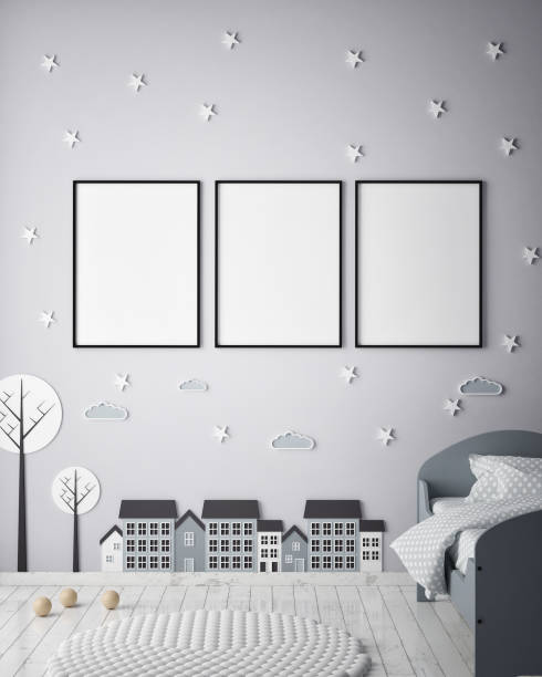 Mock up poster frames in children bedroom scandinavian style interior picture id686648952?b=1&k=6&m=686648952&s=612x612&w=0&h=vwx9jxnx0h4wurv7lojures2nahdg1qr ke8iz ukyu=