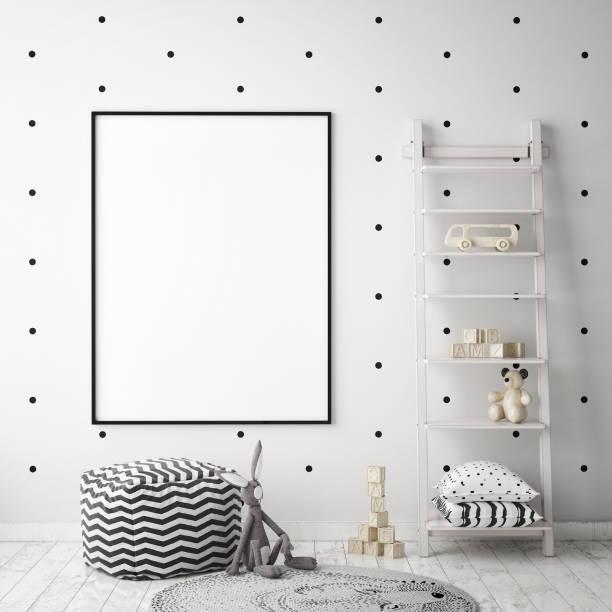 Mock up poster frames in children bedroom scandinavian style interior picture id686649020?b=1&k=6&m=686649020&s=612x612&w=0&h=elokhew bdaav8pxqfaarqrovqumojsegnux0kdexoc=