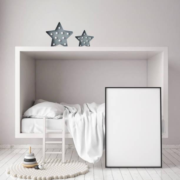 Mock up poster frames in children bedroom scandinavian style interior picture id686649038?b=1&k=6&m=686649038&s=612x612&w=0&h=doweodf1 ipk4vlwkzxt5qypnqpvagb61ndj0hgtusi=