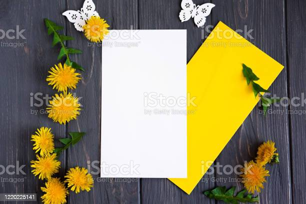 Mock up spring with dandelion on a gray wooden background with a picture id1220225141?b=1&k=6&m=1220225141&s=612x612&h=t5plzw9uudruttvkuvzr0fm5m6hpit1kiihn61fgmys=