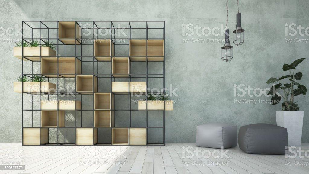 se burlan de interior de la pared. - foto de stock