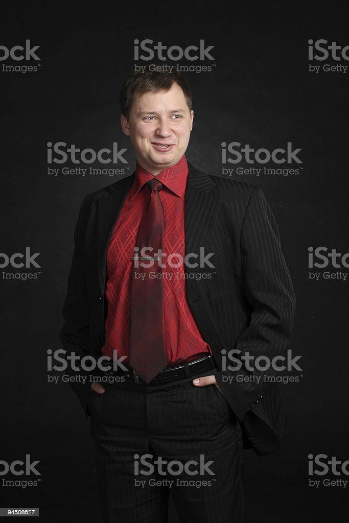 mockery man stock photo
