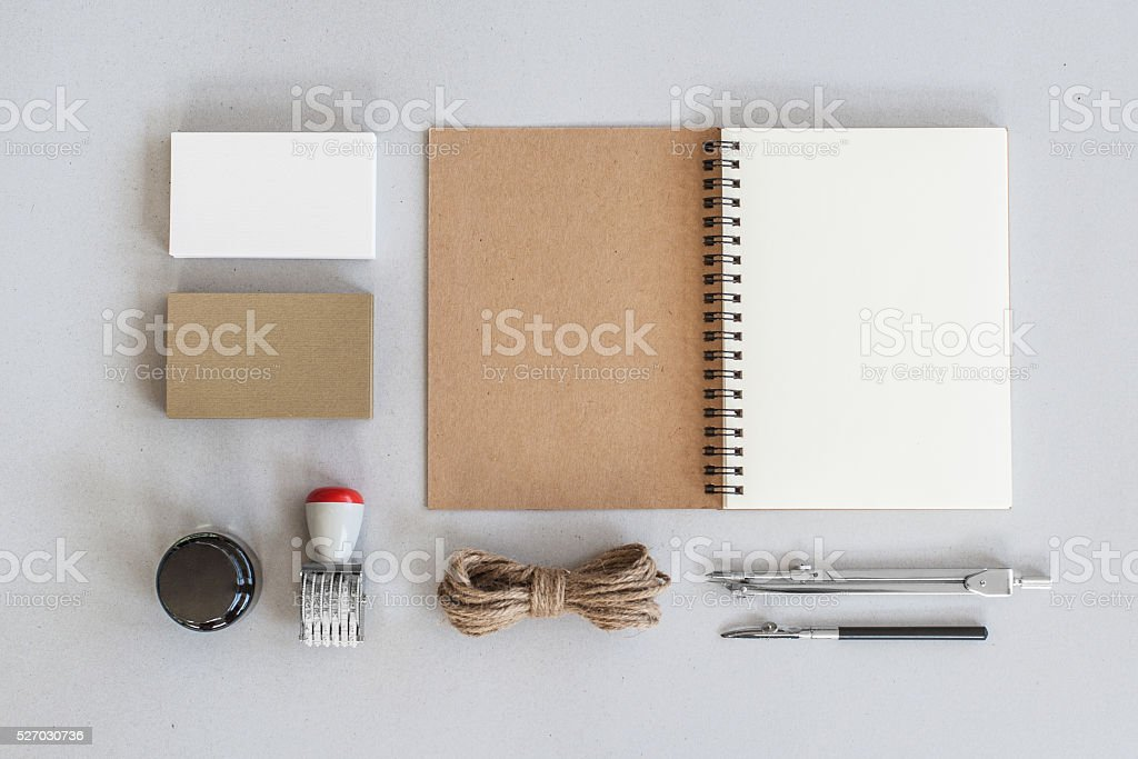 Mock-up. Brand identity template. Corporate Identity. stock photo