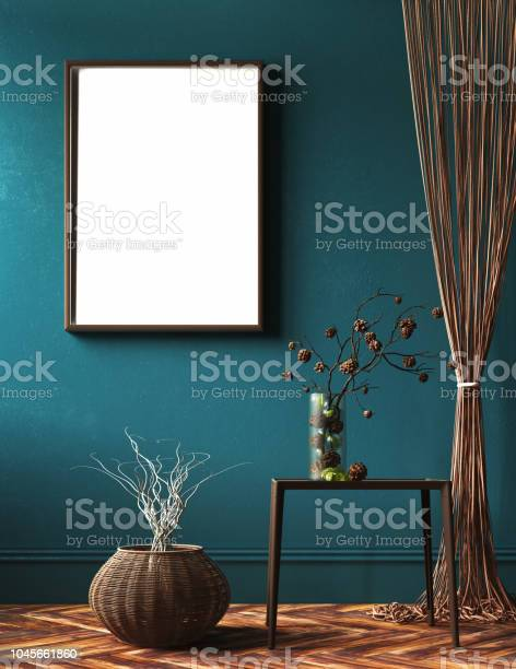 Mockup frame in living room with rope curtains and bouquet of branch picture id1045661860?b=1&k=6&m=1045661860&s=612x612&h=ia5o rtm tev6b8cqeedkf9tfwnmzs3ucsdvcu9ruwg=
