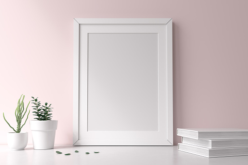Mockup Frame Stock Photo - Download Image Now