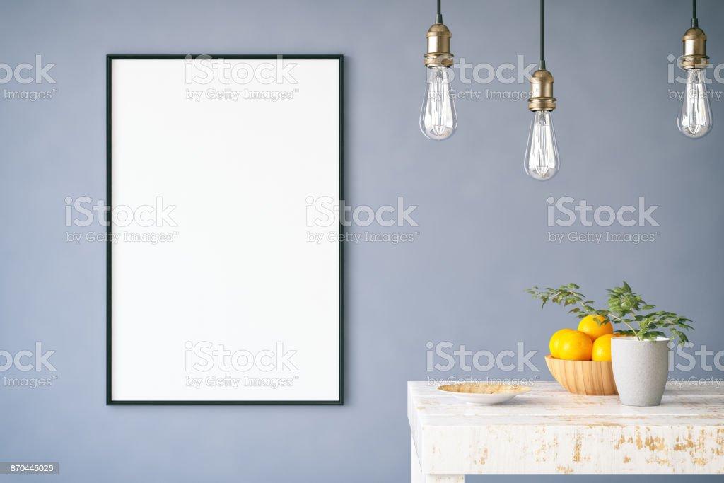 Mockuprahmen Mit Tabelle Stock-Fotografie und mehr Bilder von ...