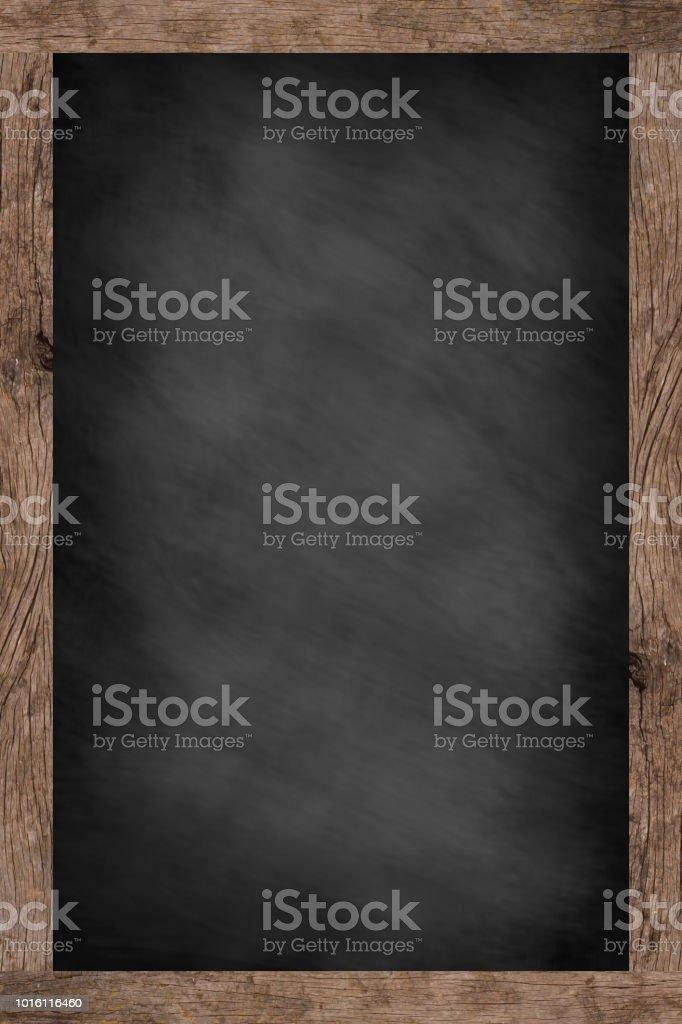 Mock-up der Kreide Board vertikale Hintergrund Textur für Werbung oder anzeigen Produkt: Blackboard Montage Bildkonzept – Foto