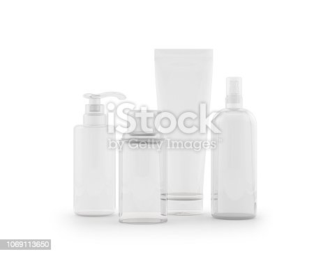 Bottle, Make-Up, Beauty Product, Moisturizer, Transparent Plastic, Cream - Dairy Product