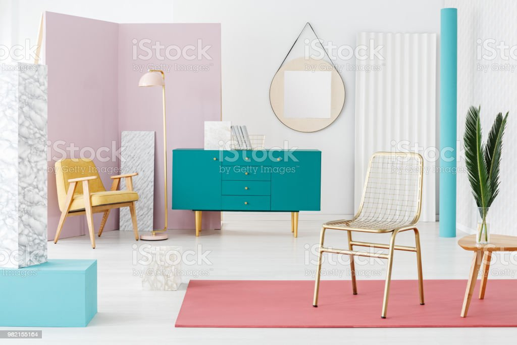 Mockup Painting On The Wall Stock Photo Download Image Now Istock
