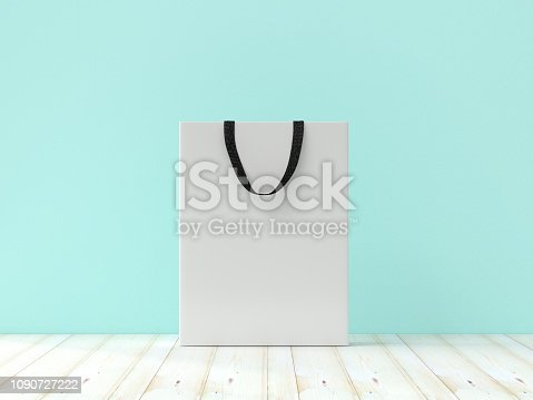 istock Mock-Up, Shopping Bag 1090727222