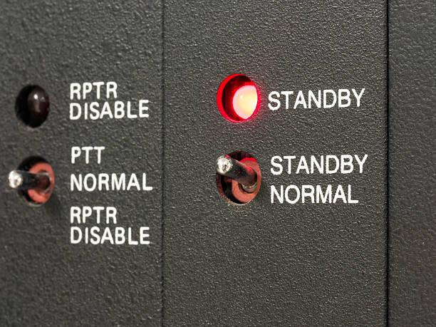 Mode standby stock photo