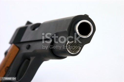 istock Model 1911 .45 Caliber Pistol 178988154
