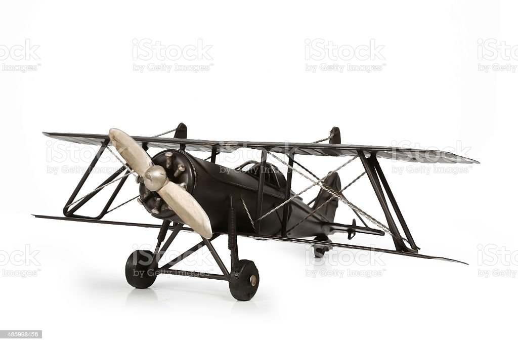 model aircraft stock photo
