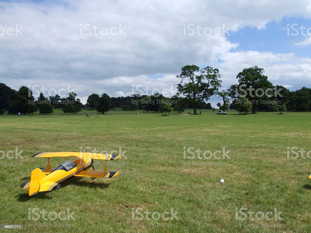 Model Aircraft royalty-free stock photo