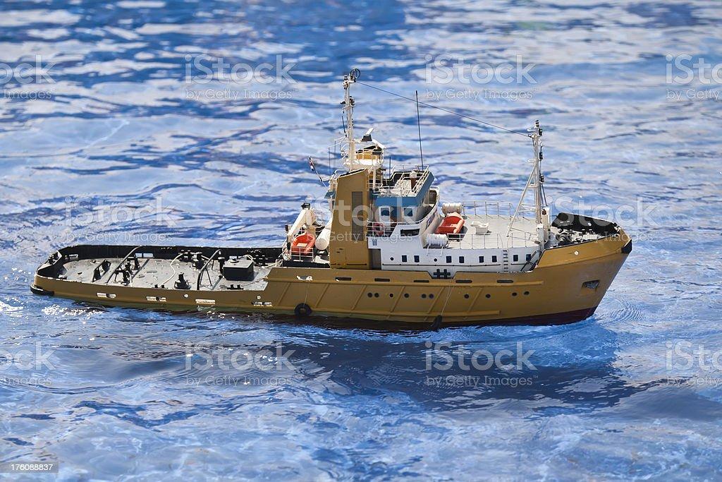 Modelo de barco (XL) Close-up - foto de acervo