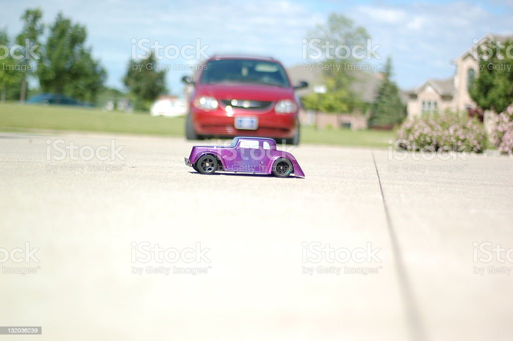 Model car stock photo