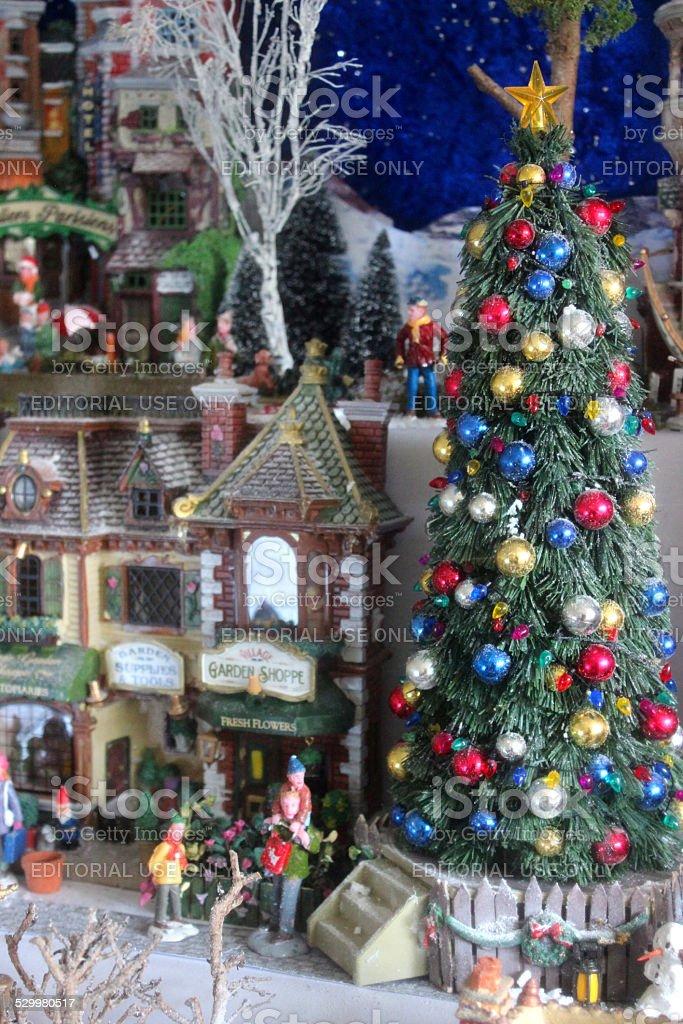 Miniature Christmas Village Lights