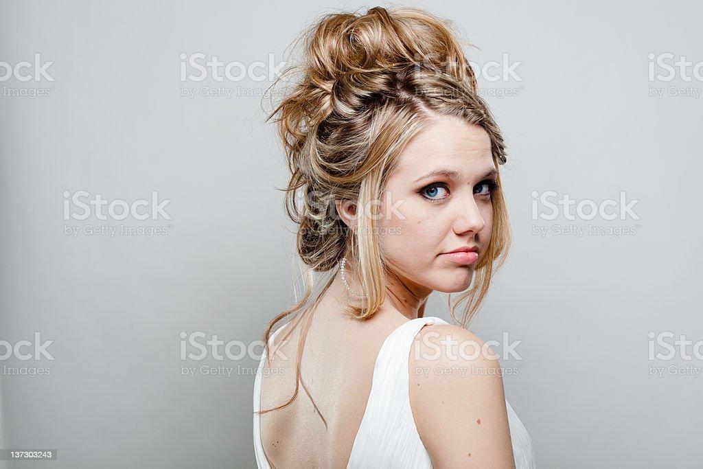 Model Headshot royalty-free stock photo