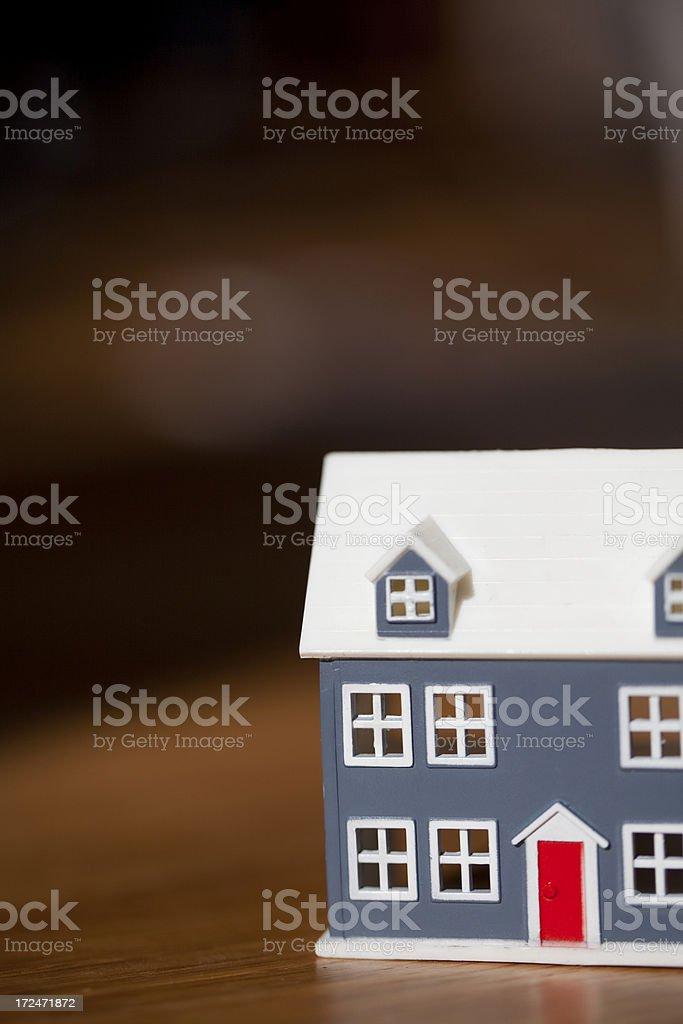 Model house royalty-free stock photo