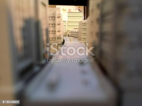 463026893 istock photo 3D model of a city 613043600