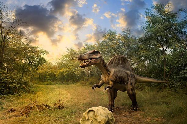 モデルの恐竜公園 - 恐竜 ストックフォトと画像