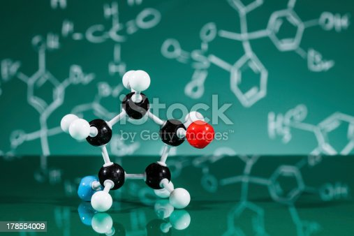 istock Model of molecular structure 178554009