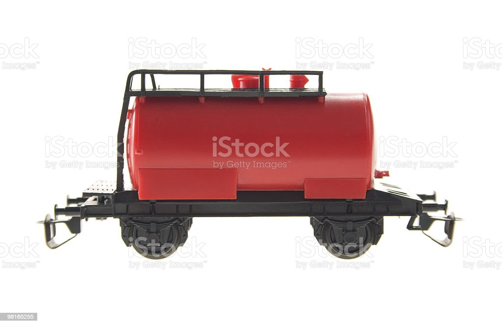 model of railway royalty-free stock photo
