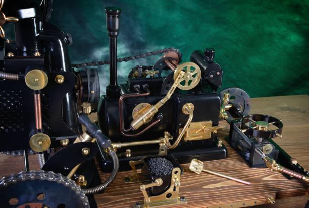 Modell der Dampfmaschine – Foto