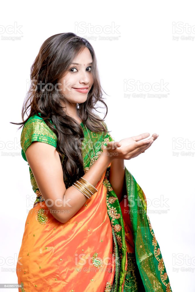 b23b7ffb36 model on saree , indian culture , traditional wear, royalty-free stock photo