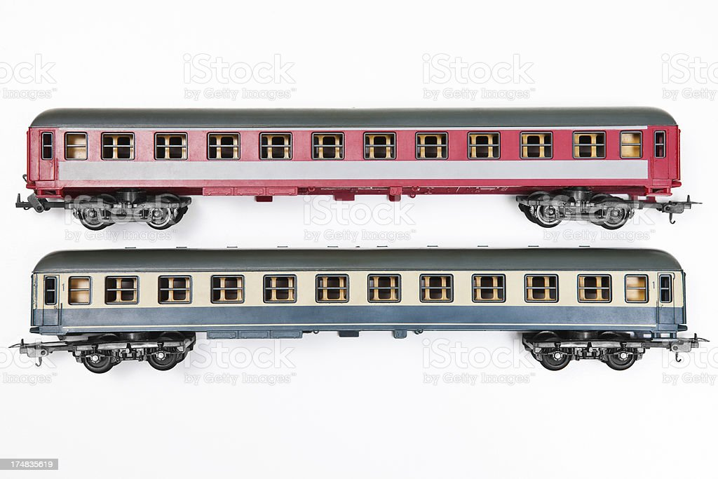 model passenger cars stock photo