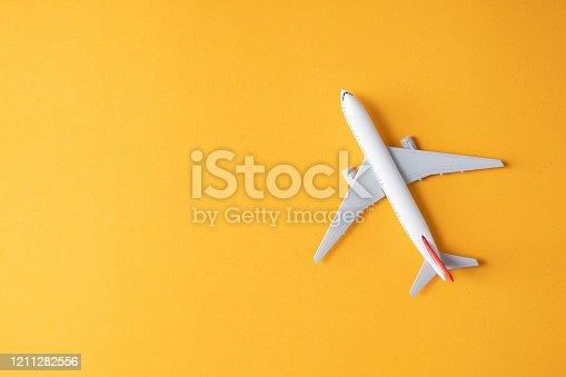 istock Model plane 1211282556