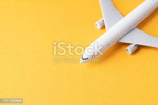 istock Model plane 1211282559