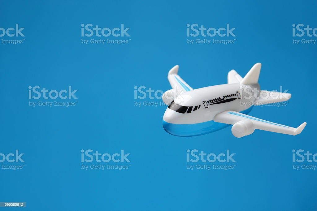 model plane royalty-free stock photo