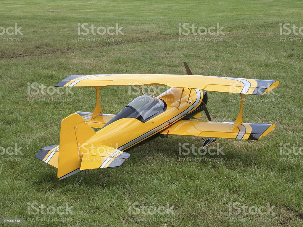 Model Plane royalty-free stock photo