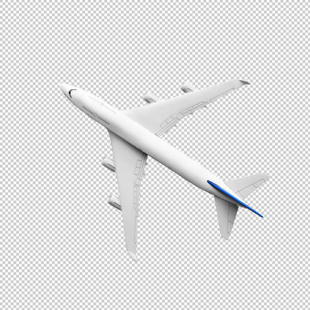 plano modelo, avión simulado up.clipping camino - avión fotografías e imágenes de stock