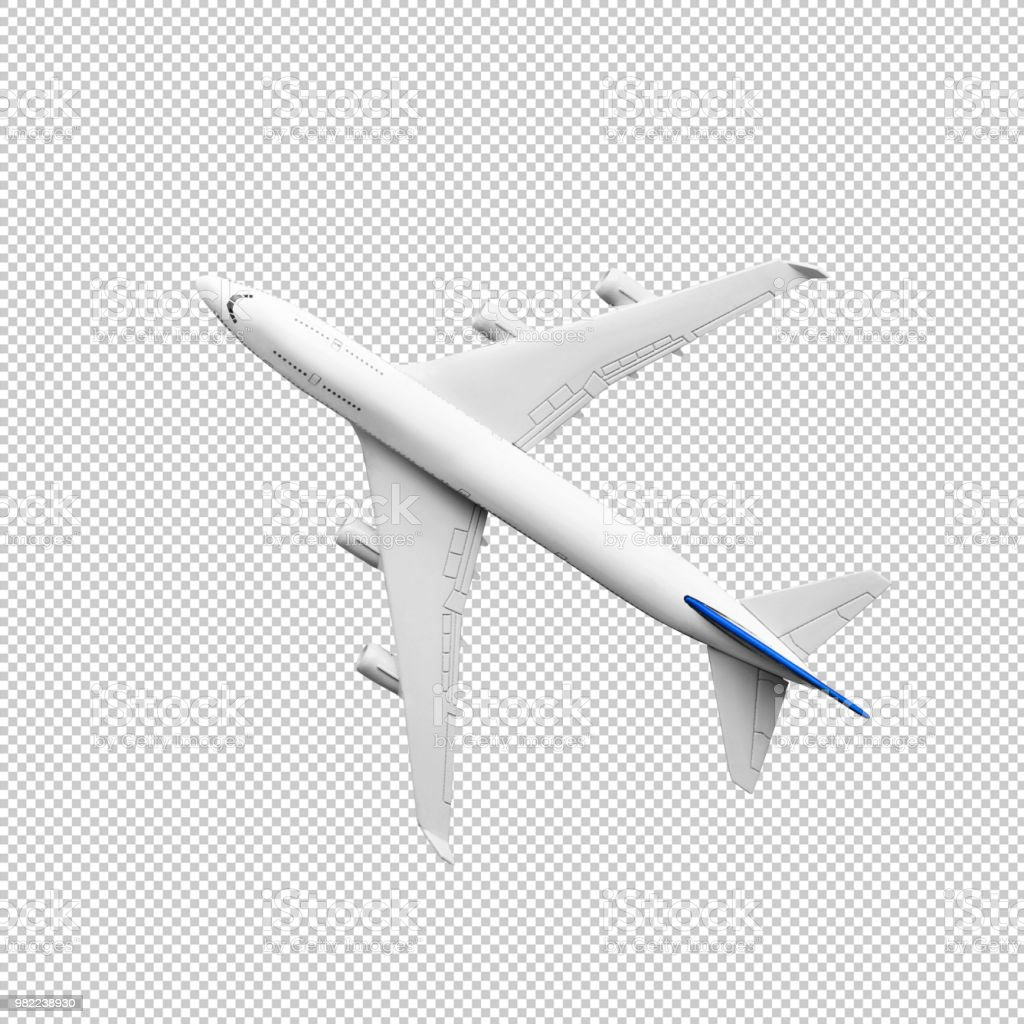 Model plane,airplane mock up.clipping path stock photo