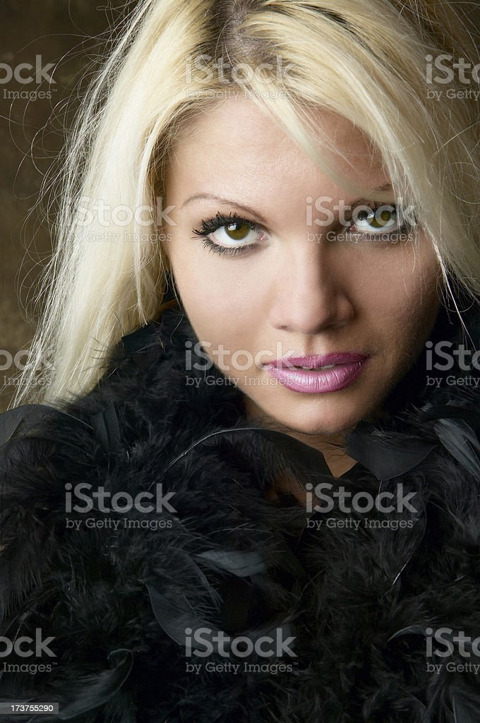 Model portrait royalty-free stock photo