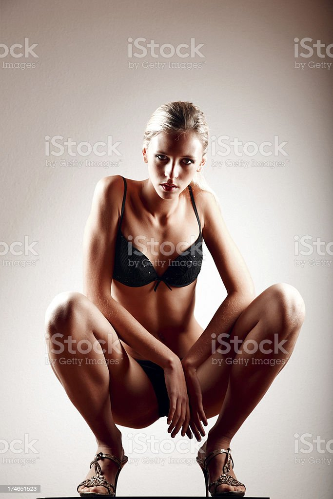 Model posing royalty-free stock photo