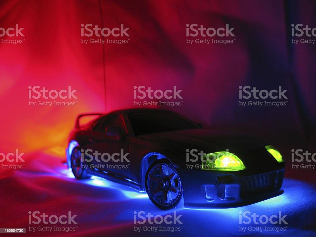 Model Street Racer 1 stock photo