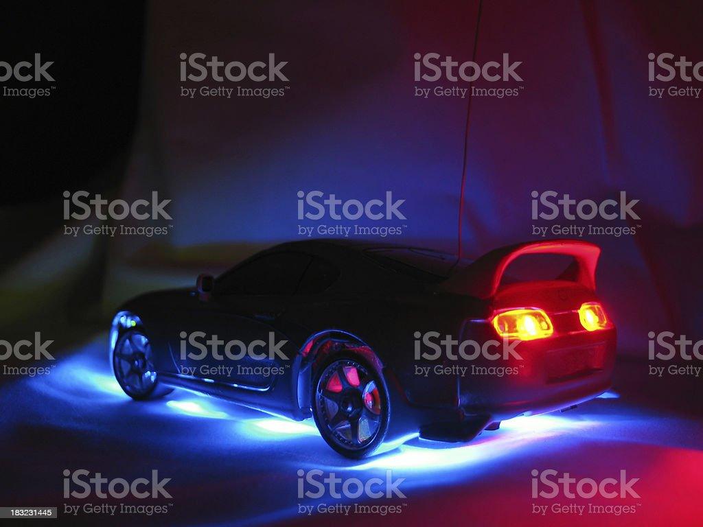 Model Street Racer 2 stock photo