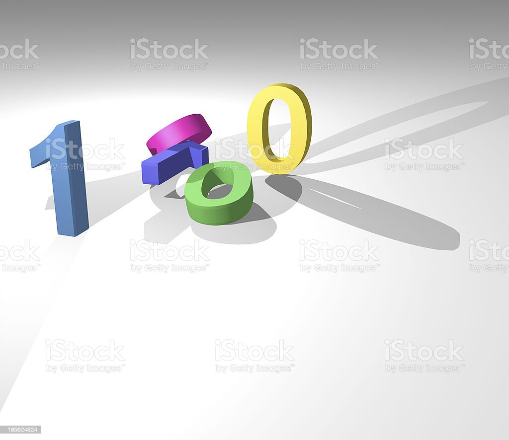 3D model technology concept background stock photo