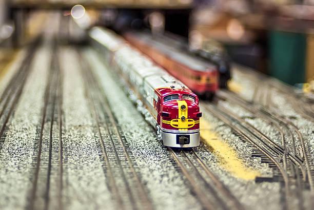 Model Train stock photo