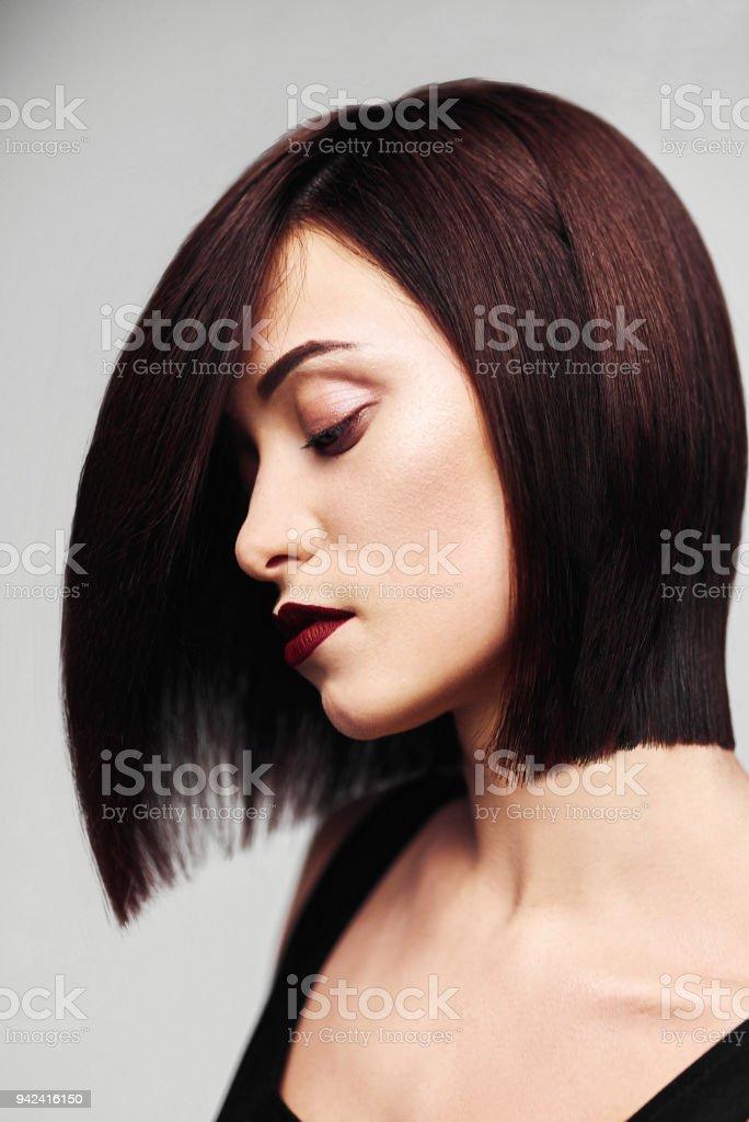 Glatte bob frisuren