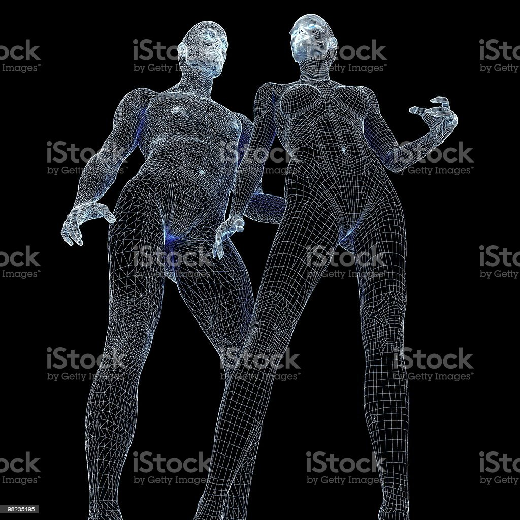 Mannequins. royalty-free stock photo