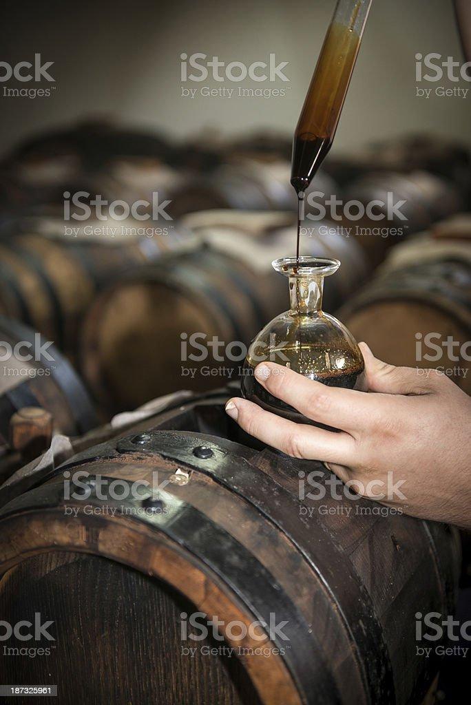Aceto balsamico di modena - foto stock