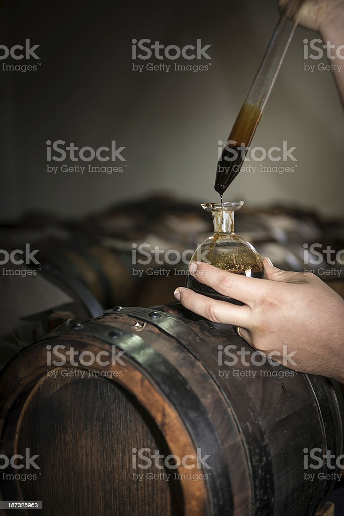 modena balsamic vinegar stock photo