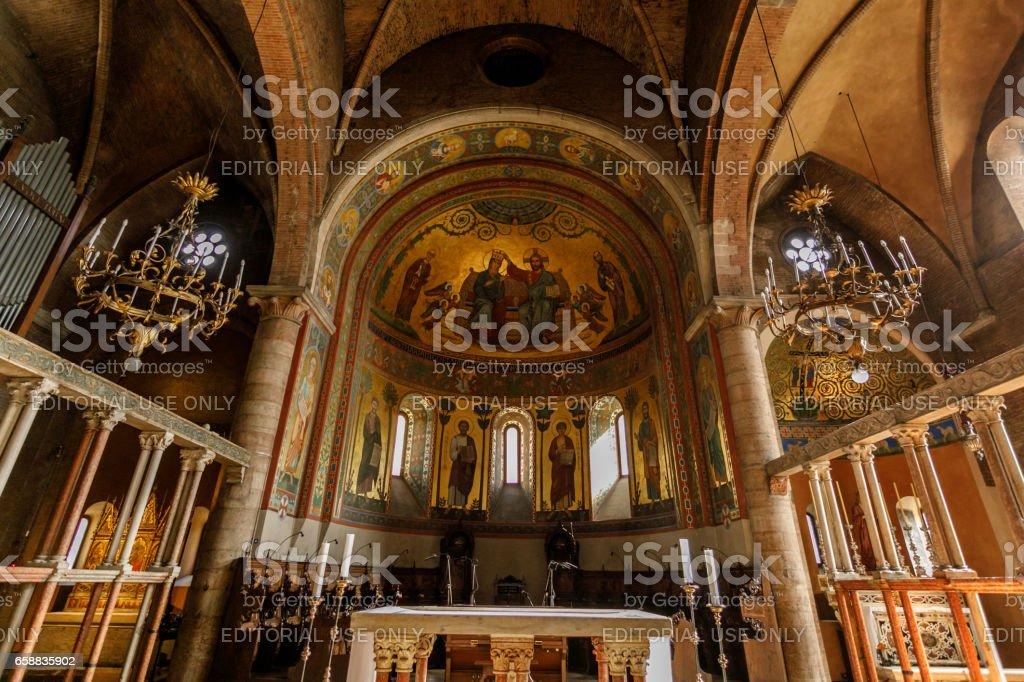 Modena Cathedral, Modena, Italy stock photo