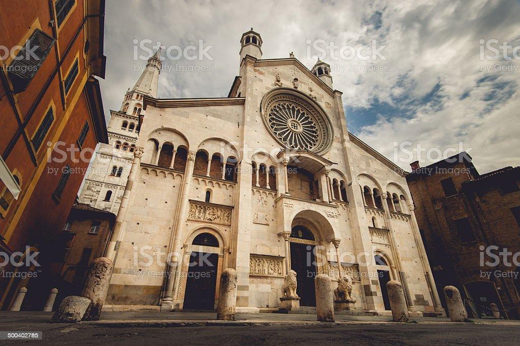 Modena Cathedreal stock photo