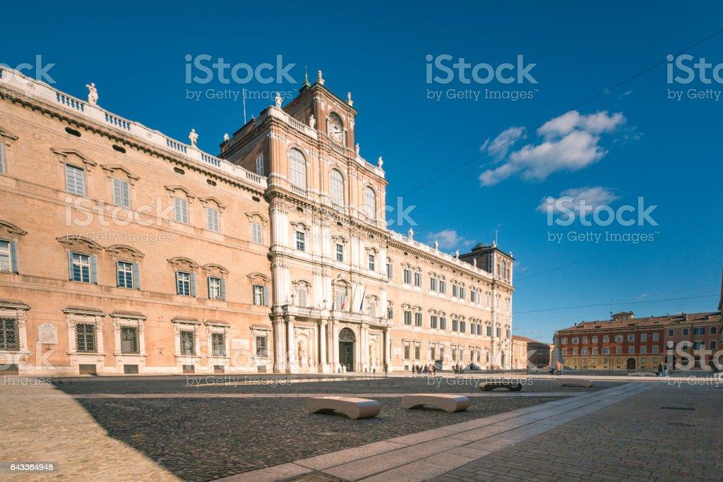 Modena, Emilia Romagna, Italy. Piazza Roma stock photo